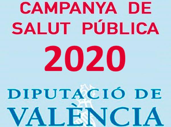 Campaña de Salud pública 2019 de la Diputació de València